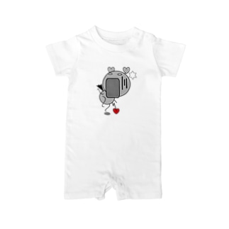 FUNNY FRIENDS(BABY) おどろき Baby rompers