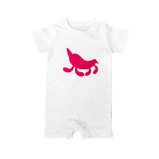 Moondrop Pink Baby rompers