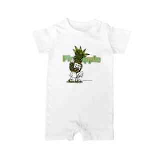 Pineappleシュガ〜 Baby rompers