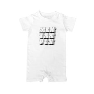 MENTANPIN2(DB) Baby rompers