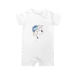unicorn  Baby rompers