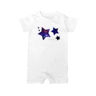 宇宙スター Baby rompers