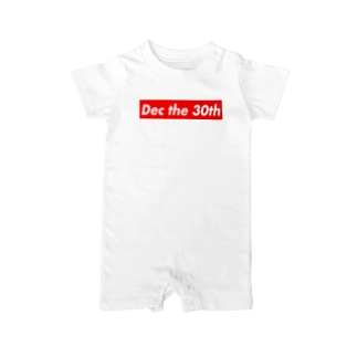 Dec the 30th(12月30日) Baby Rompers