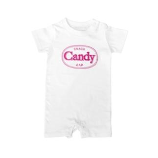 OkayamaCandyの岡山Candy Baby rompers