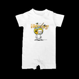 ShufChefのHoneryシュガ~ Baby rompers