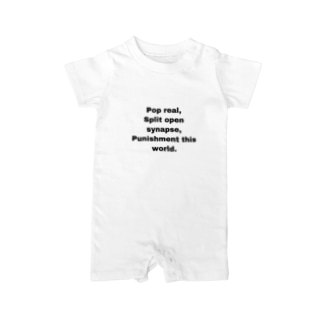 pop real Baby rompers