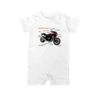 Yoctosec.DesignのDoremi 900RS Red Parts List Baby rompers