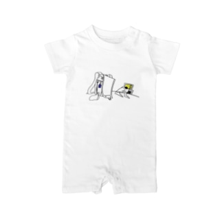 TV GAME Baby rompers