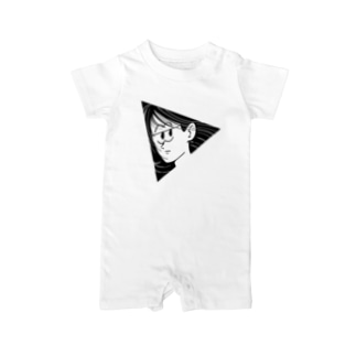 TRIANGLE GIRL Baby rompers