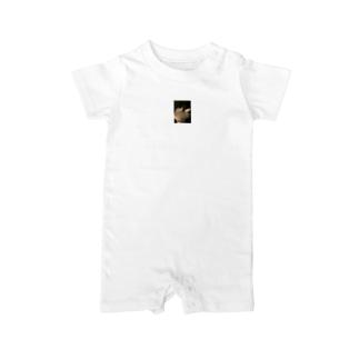 愛しの文鳥Tシャツ Baby rompers