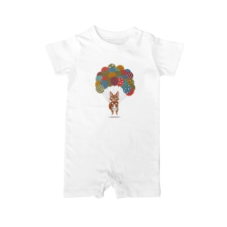 Balloon Dog Baby rompers