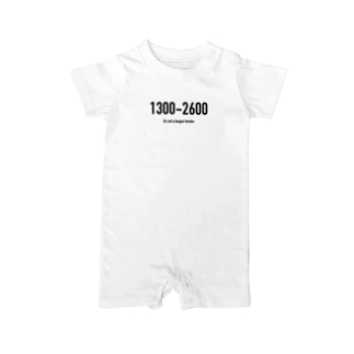 POINTS 1300-2600 Baby rompers