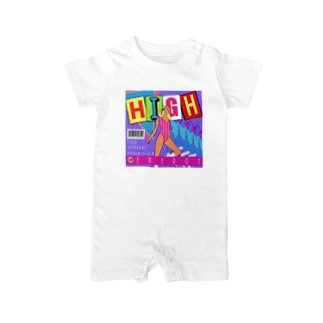 HIGHENERGY HIGHENERGY HIGHENERGY HIGHENERGY Baby rompers