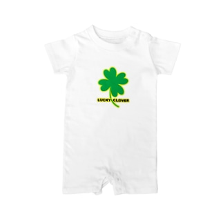 LUCKY CLOVER Baby rompers