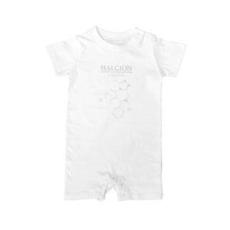 ハルシオン(トリアゾラムを使用した睡眠導入剤[睡眠薬]):化学:化学構造・分子式 Baby rompers
