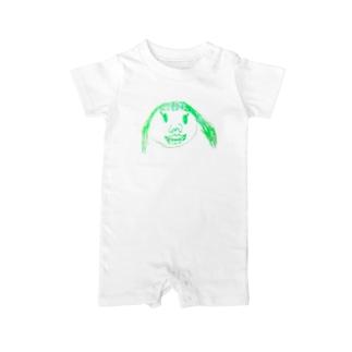 momocogahaku_01 Baby rompers