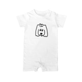 コッカースパニエル Baby rompers