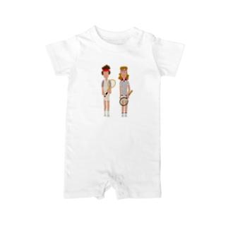 McEnroe & Borg Baby rompers
