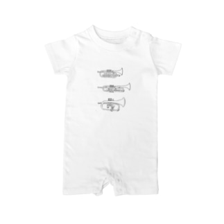 trumpets Baby rompers