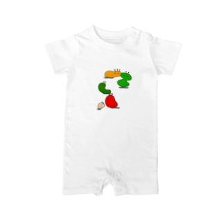 菌類 Baby rompers