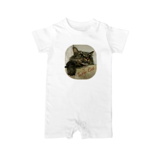 Tabby Cat Baby rompers