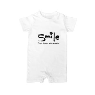 KASIのsmile Baby rompers