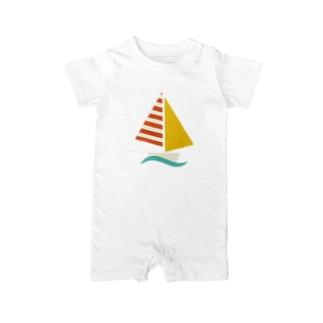 ヨット Baby rompers