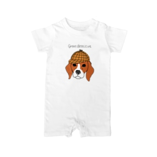 great  detective beagle Baby rompers
