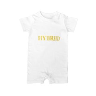 HYBRID系 Baby rompers