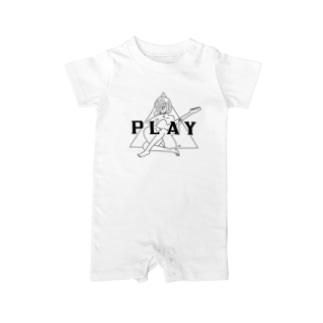 PLAY GIRL(期間限定販売)白ボディ推奨 Baby rompers