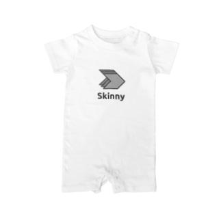 Skinny Framework 2015 Spring Baby rompers
