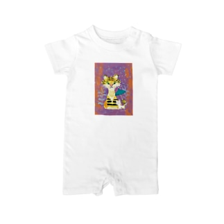 tiger & cat Baby rompers