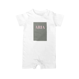 ARIA Baby rompers