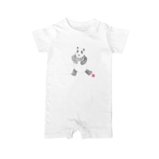 パンダさん Baby rompers