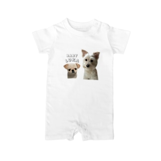 LUKAちゃん用 Baby rompers