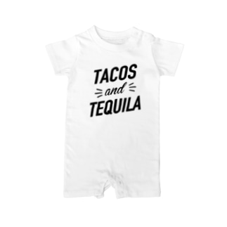 TACOS and TEQUILA Baby rompers