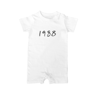 1988 Baby rompers
