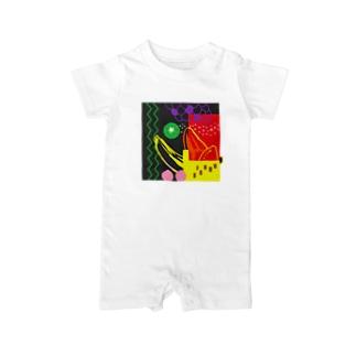 mori-mori Baby rompers