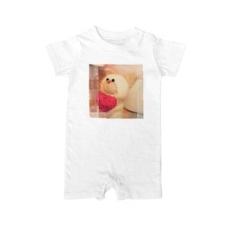 LOVEにゃん Baby rompers