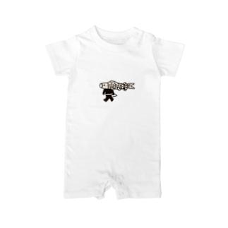【期間限定】ジャンボこいのぼりマン Baby rompers
