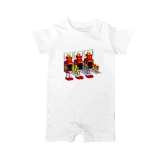 SUPER ROBOT MAKERS Baby rompers