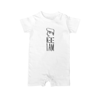 HERE I AM : LOGO Baby rompers