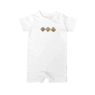 ALOHA / MAHALO / OHANA Baby rompers