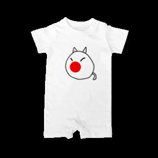 ポーランドボール×カントリボールグッズ商品店のじゃぱんボール(日本ボール) Baby rompers
