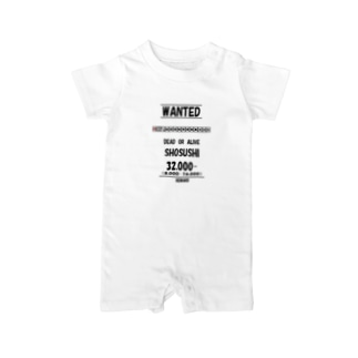 WANTED(小四喜) Baby rompers
