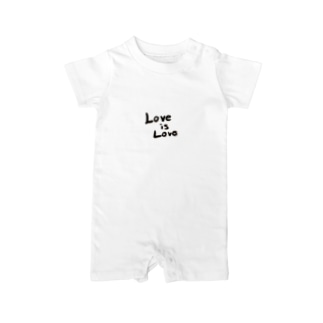 Love is Love Baby rompers