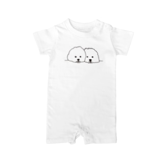 mamegoma02 Baby rompers
