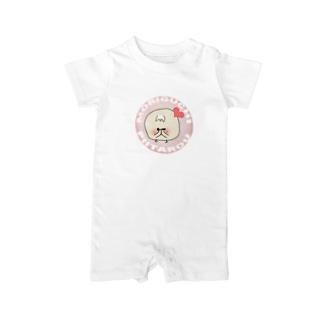 森口ぴー太郎(しーちゃん) Baby rompers