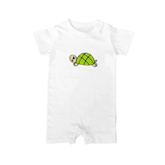 gentle turtle Baby rompers