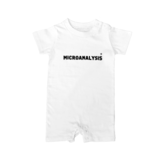 MICROANALYSIS Baby rompers